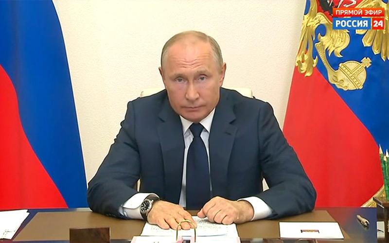 Обращение Путина к россиянам: Президент объявил о завершении нерабочего периода